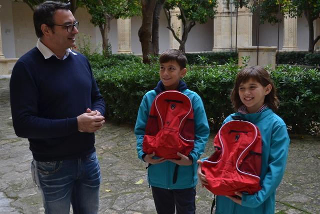 Dos de los pequeños participantes (Foto: Aj Manacor)