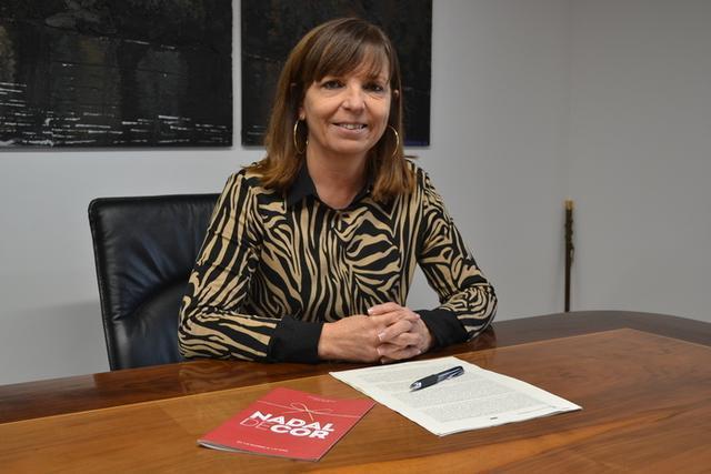El pasado mes de mayo, Riera asistió a su primer pregón como alcaldesa de Manacor
