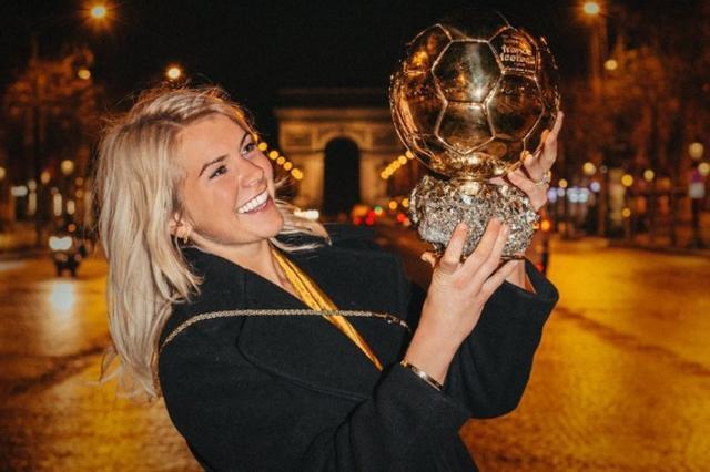 Ada Hegerberg ha sido la primera jugadora en ser proclamada mejor futbolista del mundo