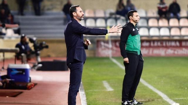 El técnico del RCD Mallorca, Vicente Moreno, volverá a alinear a los menos habituales (Foto: Twitter RCDM)