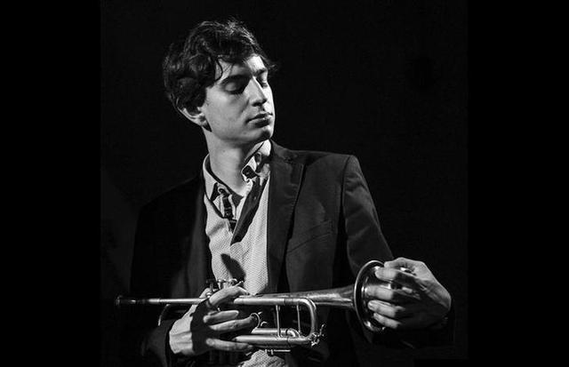 El joven trompetista Joan Pere Navarro