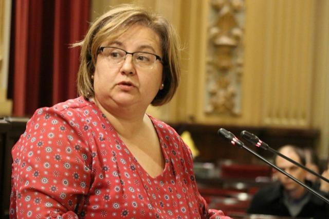 Montse seijas en el parlament