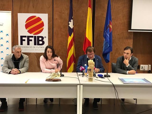 Catalina Coll en el homenaje de la FFIB