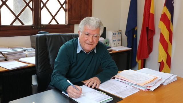 El alcalde de Alcúdia, Antoni Mir