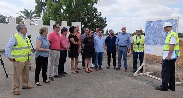 En julio de este año empiezaron las obras del enlace de Lloseta con la autopista de Inca