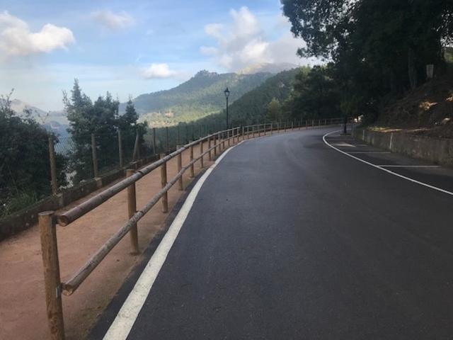 El Ayuntamiento ha construido una rampa de acceso en Cala Tuent