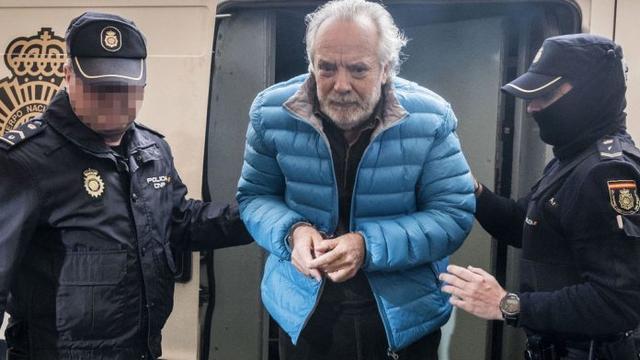 El empresario cuando estaba detenido (Foto: archivo)