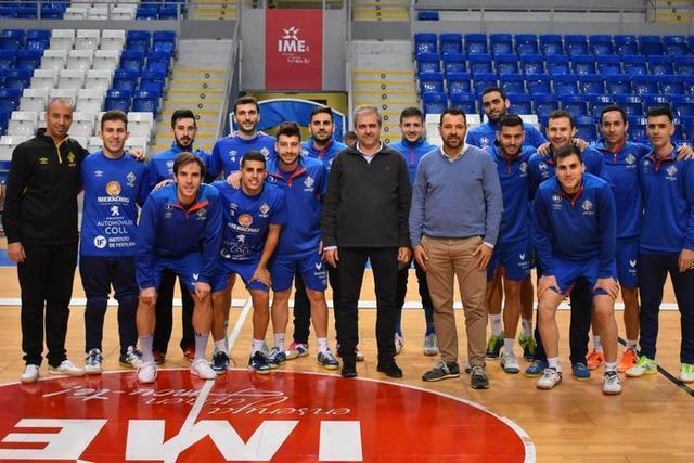 El Palma Futsal quiere acabar la primera vuelta en la tercera plaza