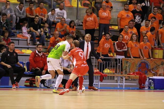 Los de Vadillo no han sabido conservar su renta (Foto: Twitter Palma Futsal)