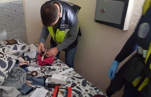 A la víctima se le dio protección en un centro de acogida (Foto: CNP)