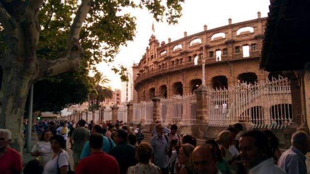 En la imagen la plaza de toros de Palma donde ya no se realiza ningún festejo taurino