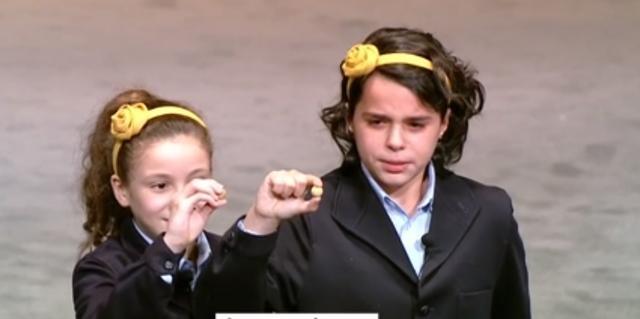 El Gordo Aya y Carla llorando