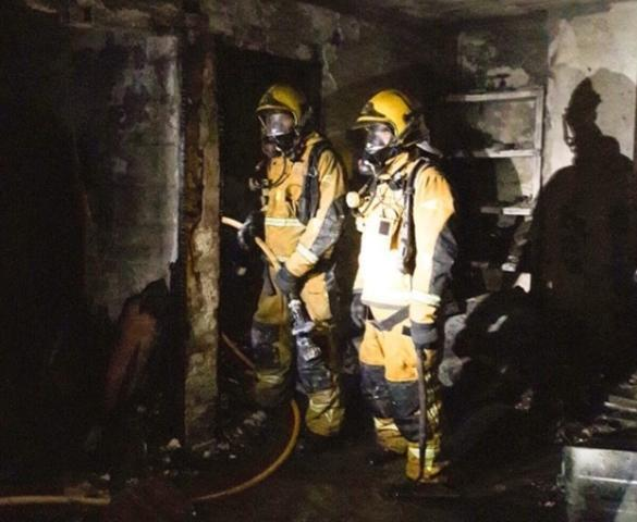El ático ha quedado totalmente devastado tras la deflagración