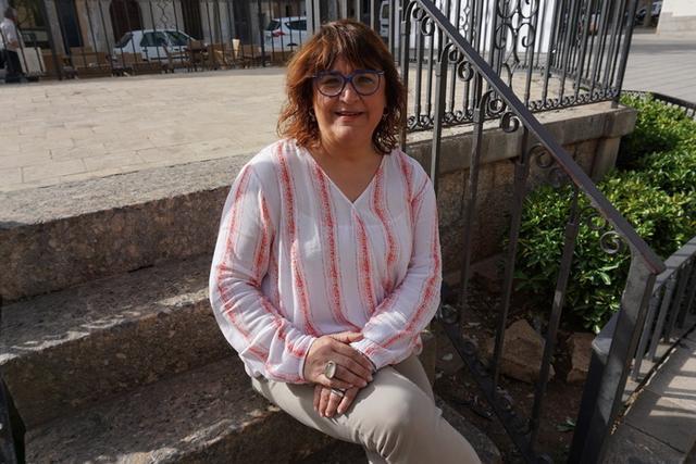 La alcaldesa de Algaida, Maria Antònia Mulet