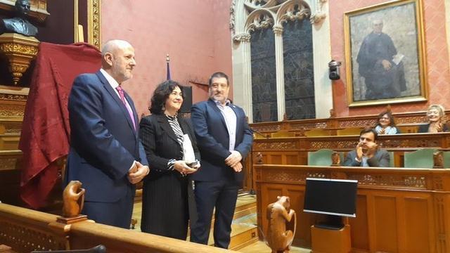 El presidente del Consell de Mallorca, Miquel Ensenyat, ha entregado este jueves los galardones (Foto: CIM)