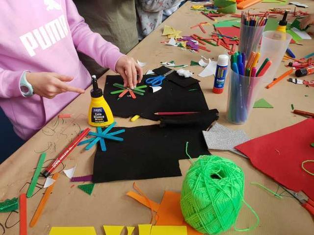 Los más pequeños pueden disfrutar de actividades como talleres