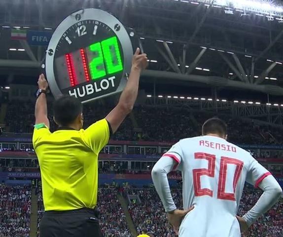 Asensio, en el momento de su debut mundialista