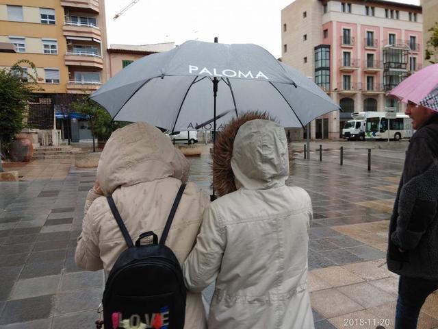 La lluvia regresará la próxima semana a las Islas (Foto: María Jesús Almendáriz)