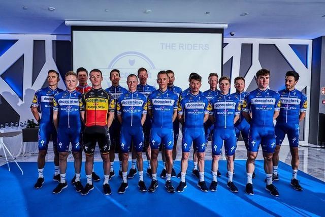 El equipo belga ha sido presentado este martes en Alicante