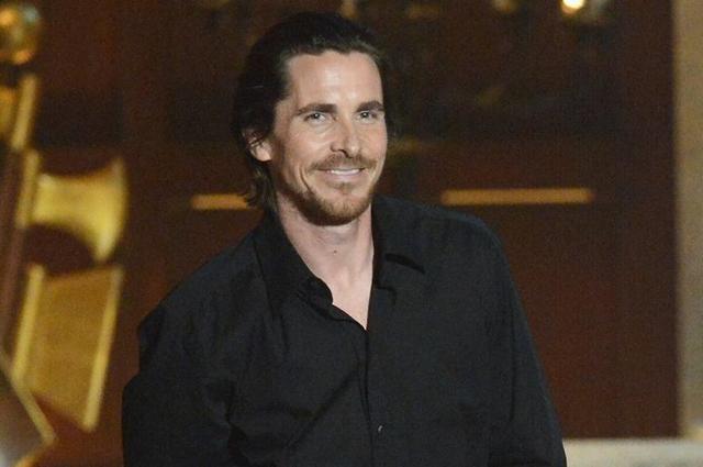 El premiado actor Christian Bale