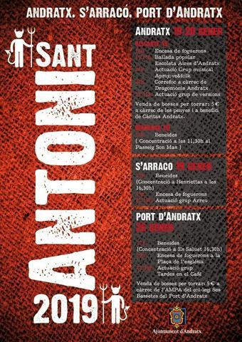 Programa Sant Antoni en Andratx