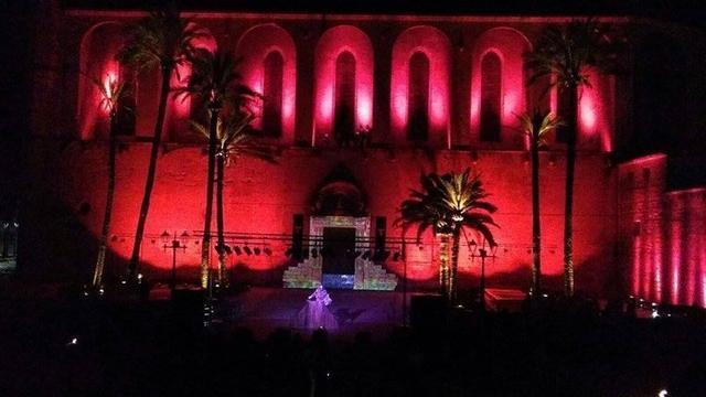 El rojo será protagonista de la noche mágica (Foto: Ayto Muro)