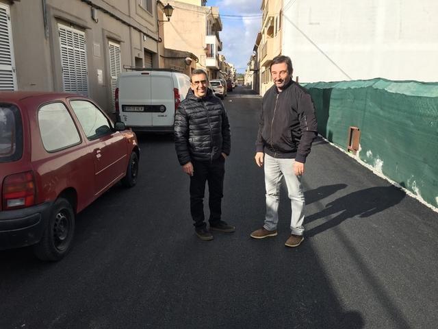 En estos momentos, las obras se centran en las calles Orlandis y Dr. Lliteras (Foto: Ayto Son Servera)