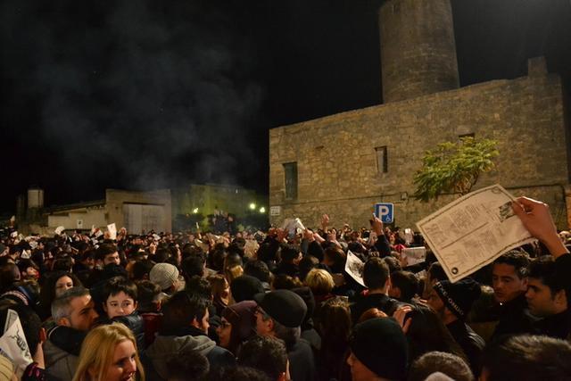 La Plaça de la Concòrdia registró un gran ambiente (Foto: Ayto Manacor)