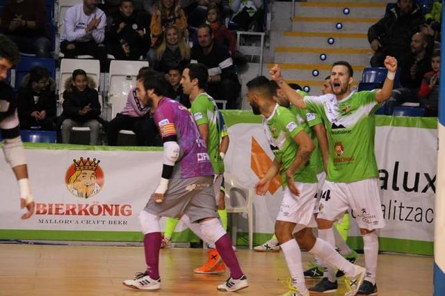 Los mallorquines estrenan el año como locales con un valioso triunfo (Foto: Palma Futsal)