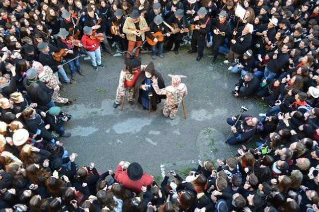 El Dimoni y Sant Antoni, grandes protagonistas (Foto: Ayto Manacor)