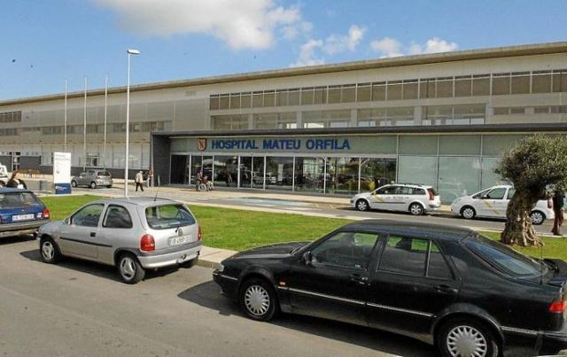 El presunto agresor está ingresado en el Hospital Mateu Orfila de Menorca (Foto: Archivo)