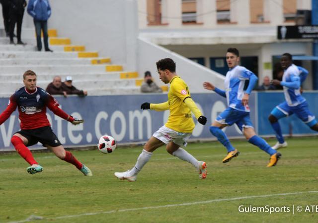 Samuel tuvo en sus botas el gol del triunfo (Foto: ATB)