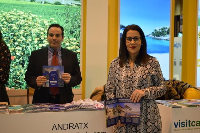 La regidora de Turismo de Andratx, Encarna Rodríguez (Foto: Tomeu Massanet)