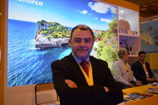 El conseller insular de Hisenda y Turisme del Consell de Mallorca, Cosme Bonet (Foto: María Jesús Almendáriz)