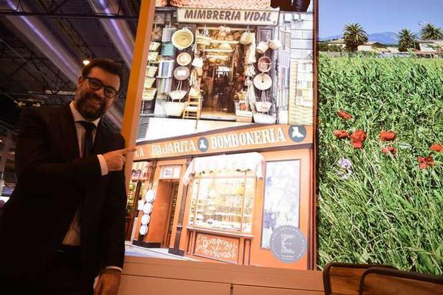 El alcalde de Palma, Antoni Noguera, este jueves en Fitur (Foto: Tomeu Massanet)