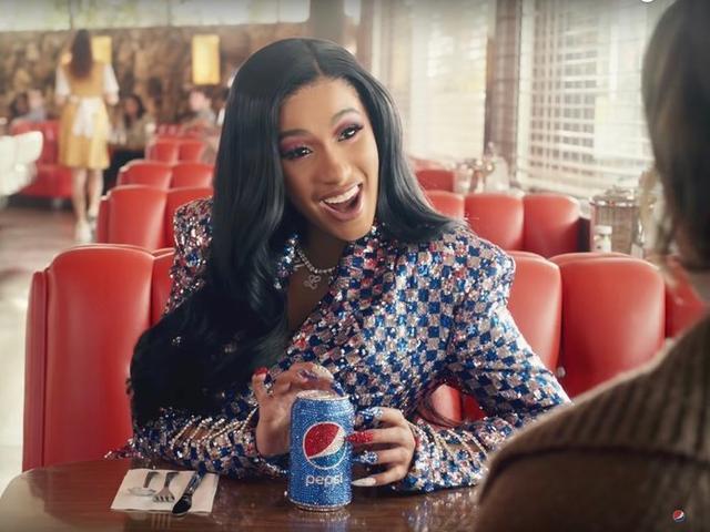 La rapera Cardi B, una de las protagonistas del anuncio