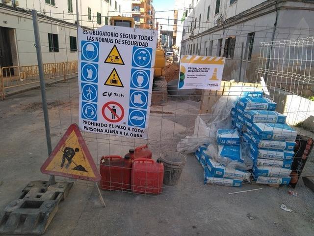 Está previsto que las obras se prolonguen durante seis meses