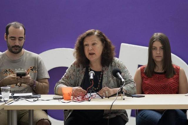 Consejo de Coordinación de Podemos en Baleares, la secretaria Mae de la Concha (Foto: Podemos Baleares)