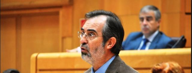 Pere Sampol cuando estaba en la primera línea política (Archivo)