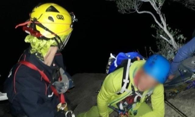 El rescate se ha prolongado durante varias horas (Foto: Bombers de Mallorca)