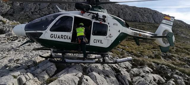 En el dispositivo de búsqueda ha participado al Grupo Especial de Rescate de Montaña de la Guardia Civil (Foto: Guardia Civil)