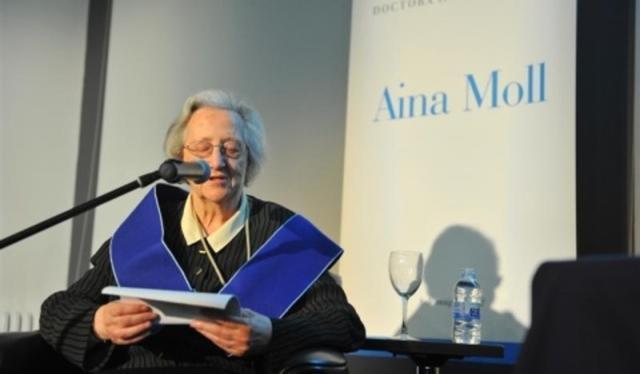 Aina Moll ha fallecido a los años de edad (Archivo)