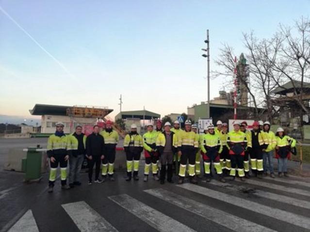 La huelga de este lunes está secundada por el cien por cien de los trabajadores (Foto: UGT)