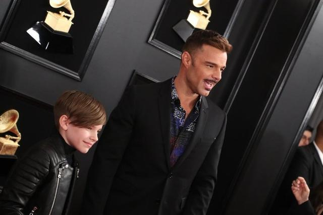 Ricky Martin y su hijo Matteo Martin causaron furor