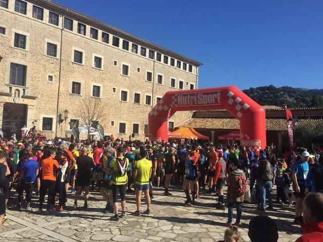 La Lluc Trail reúne en Escorca a decenas de corredores (Foto: Ayto Escorca)