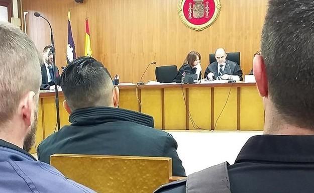 Imagen del juicio celebrado este jueves en la Sección Primera de la Audiencia Provincial de Palma