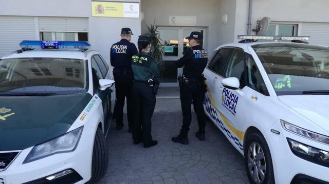 En el operativo han participado agentes de la Policía Local de Felanitx y de la Guardia Civil