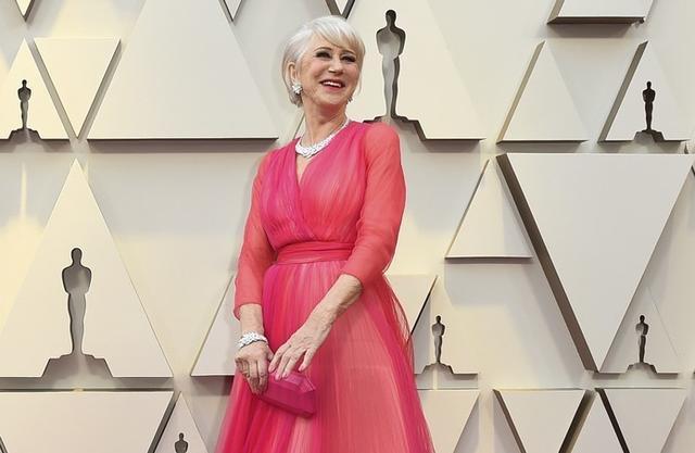 Helen Mirren deslumbró a los presentes