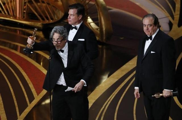 Green Book, el filme dirigido por Peter Farrelly, se alzó con el premio a la mejor película del año