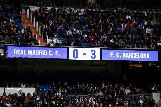 Los blaugranas han vuelto a golear en el coliseo blanco (Foto: Twitter FCB)